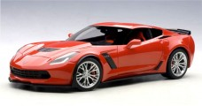 Chevrolet Corvette C7 Z06 Year 2014 Torch Red 1:18 AUTOart 71262