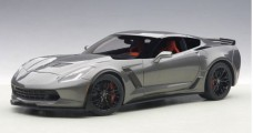 Chevrolet Corvette C7 Z06 Dark Silver 2014 1:18 AUTOart 71264