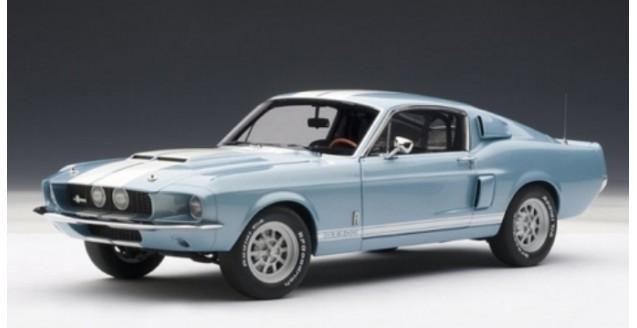 Shelby Mustang GT 500 Blue 1967 1:18 AUTOart 72907