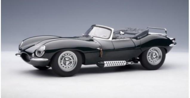 Jaguar XK-SS 1956 Steve Macqueen's Green 1:18  AUTOart 73526