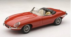 Jaguar E-Type Roadster Series I 3.8 Metal Wire Spoke Wheels / Red 1:18 AUTOart 73601