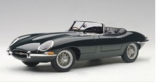 Jaguar E-Type Series I Roadster 3.8 Green 1:18 AUTOart 73604