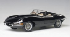 JAGUAR E-TYPE Roadster Series I 3.8 Metal Wire Spoke Wheels Black 1:18 AUTOart 73605