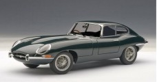 Jaguar E-Type Series I Coupe 3.8 Green 1:18 AUTOart 73612