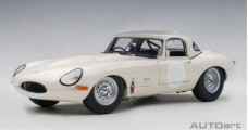 Jaguar Lightweight E-Type removable Top White 1:18 AUTOart 73649