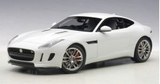 Jaguar F-Type R Coupe Year 2015 white 1:18 AUTOart 73651