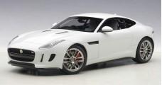 Jaguar F-Type R Coupe Year 2015 white 1:18 AUTOart 73651