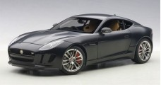 Jaguar F-Type R Coupe 2015 Composite Matt Black 1:18 AUTOart 73652