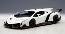 Lamborghini Veneno White 1:18 AUTOart 74507