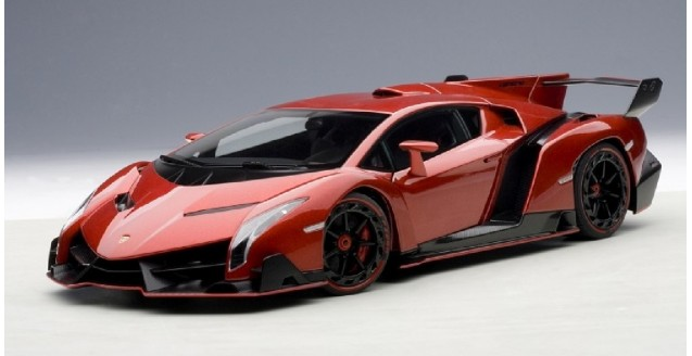 Autoart 74508 Lamborghini Veneno Red 1 18