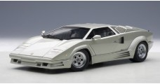 Lamborghini Countach 25th Anniversary Silver/Grey 1:18 AUTOart 74536-D