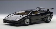 Lamborghini Countach 25th Anniversary Black 1:18 AUTOart 74539