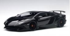 Lamborghini Aventador LP750-4 SV 2015 Black 1:18 AUTOart 74556