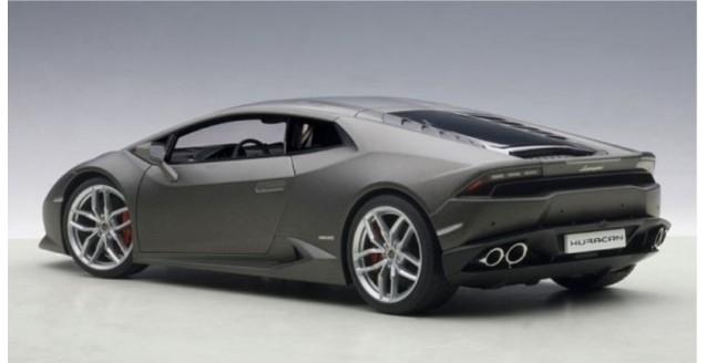 Autoart 74606 Lamborghini Huracan Lp610 4 Grigio Matt Grey 2014 1 18