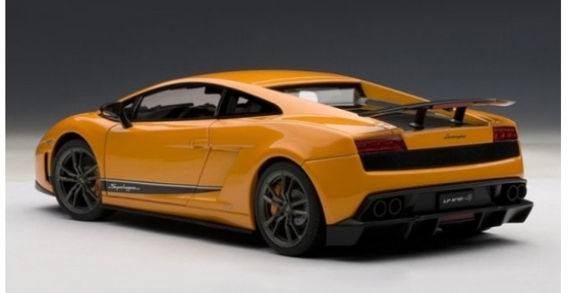 Autoart 74656 Lamborghini Gallardo Superleggera Orange 1 18