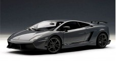 LAMBORGHINI GALLARDO LP570-4 SUPERLEGGERA  Grey 1:18 AUTOart 74657