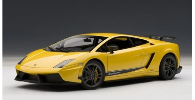 Autoart 74658 Lamborghini Gallardo Superleggera Yellow 1 18