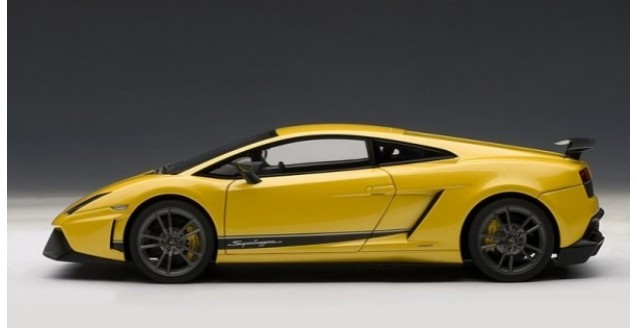 Autoart 74658 Lamborghini Gallardo Superleggera Yellow 1 18