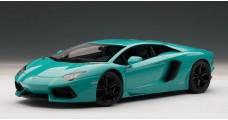 Lamborghini Aventador LP700-4 Turquoise Blue 1:18  AUTOart 74667