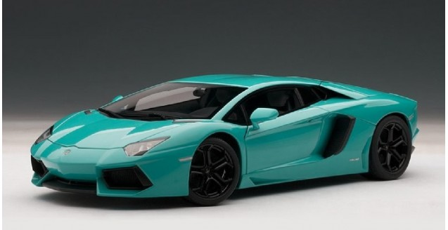 Autoart 74667 Lamborghini Aventador Lp700 4 Turquoise Blue