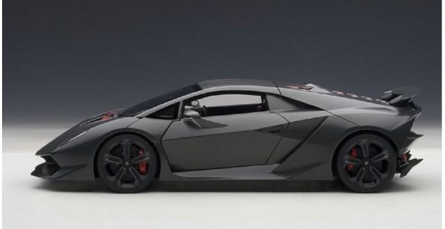 Autoart 74671 Lamborghini Sesto Elemento Grey 1 18