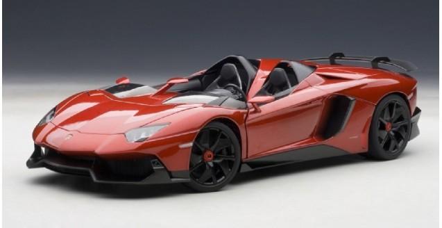 Lamborghini Aventador J Red 1:18 AUTOart 74673