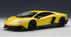 Lamborghini Aventador LP720-4 Yellow 1:18 AUTOart 74681