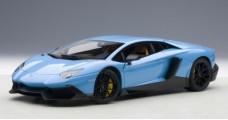 Lamborghini Aventador LP720-4 Blue 1:18 AUTOart 74682