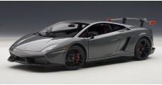Lamborghini Gallardo LP570 Super Trofeo Grigio Telesto Grey 1:18 AUTOart 74692