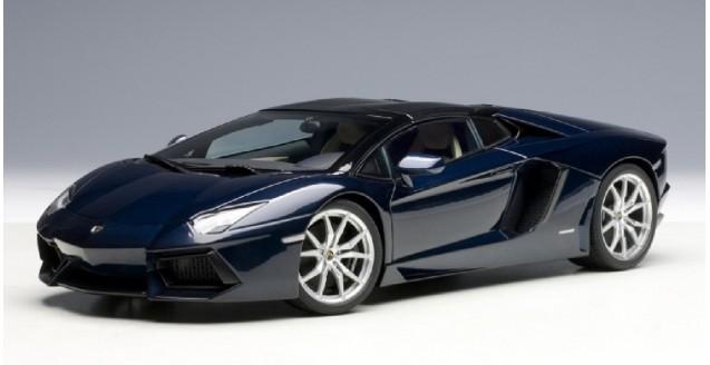 Autoart 74698 Lamborghini Aventador Lp 700 4 Roadster Blu