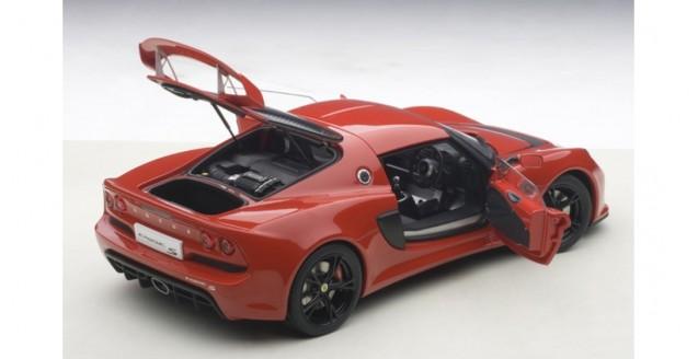 autoart 75381 lotus exige s 2012 composite model red 1 18. Black Bedroom Furniture Sets. Home Design Ideas