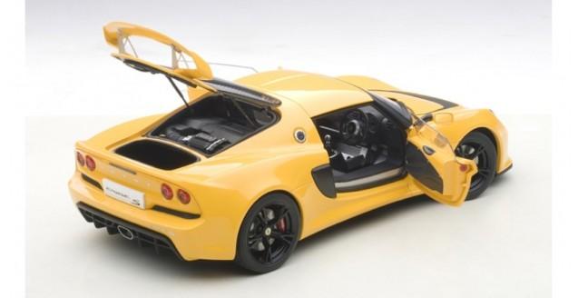 autoart 75382 lotus exige s 2012 composite model yellow 1 18. Black Bedroom Furniture Sets. Home Design Ideas