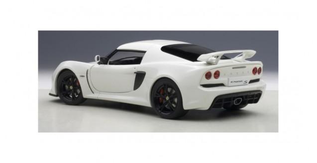 autoart 75383 lotus exige s 2012 composite model white 1 18. Black Bedroom Furniture Sets. Home Design Ideas