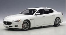 Maserati Quattroporte GTS White 1:18 2015 AUTOart 75808
