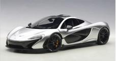 McLaren P1 2013 Composite Silver 1:18 AUTOart 76026