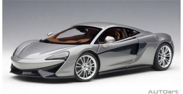 McLaren 570S Blade Silver 2016 1:18 AUTOart 76043