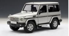 Mercedes-Benz G500 SWB Silver 1:18 AUTOart 76112
