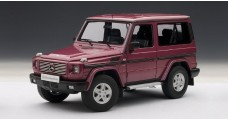 Mercedes-Benz G500 SWB Red 1:18 AUTOart 76113