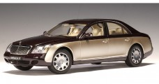 Maybach 57 SWB (Ayers Rock Red / Rocky Mountains Brown Bright) Gold 1:18 AUTOart 76153