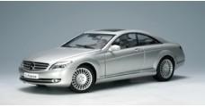 Mercedes CLK coupe Silver 1:18 AUTOart 76164