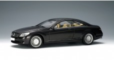 Mercedes CLK coupe Black 2006 1:18 AUTOart 76165