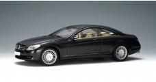 Mercedes CLK coupe Black 2006 1:18 AUTOart 76165