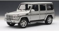 Mercedes-Benz G500 LWB Silver 1:18 AUTOart 76217