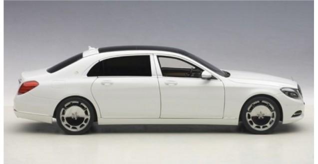 autoart 76291 mercedes maybach s klasse s600 swb white