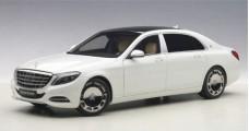 Mercedes Maybach S-Klasse S600 SWB White 2015 1:18 AUTOart 76291