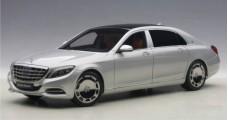 Mercedes Maybach S-Klasse S600 SWB Silver 2015 1:18 AUTOart 76292