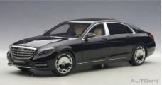Mercedes Maybach S-Klasse S600 SWB Black 2015 1:18 AUTOart 76293
