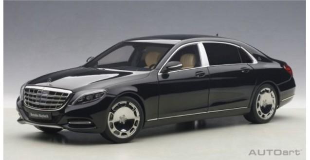 autoart 76293 mercedes maybach s klasse s600 swb black