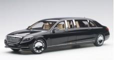 Mercedes Benz S-Class S600 Pullman 2016 Black 1:18 AUTOart 76297