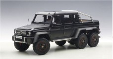 Mercedes-Benz G63 Amg 6x6 2013 Matt Black Composite 1:18 AUTOart 76302